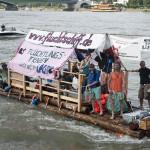 Über Wasser wandeln – Fluchtschiffe in Bonn